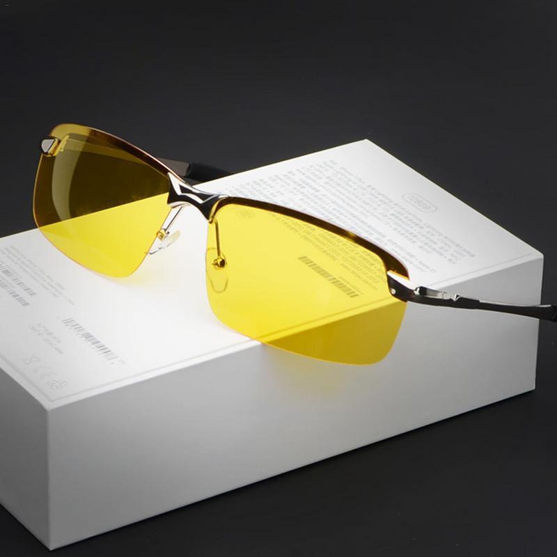 Lunettes de conduite de nuit HD lunettes de soleil polarisées Anti-éblouissement lunettes de Vision nocturne sûres lunettes de soleil de mode pour hommes femmes