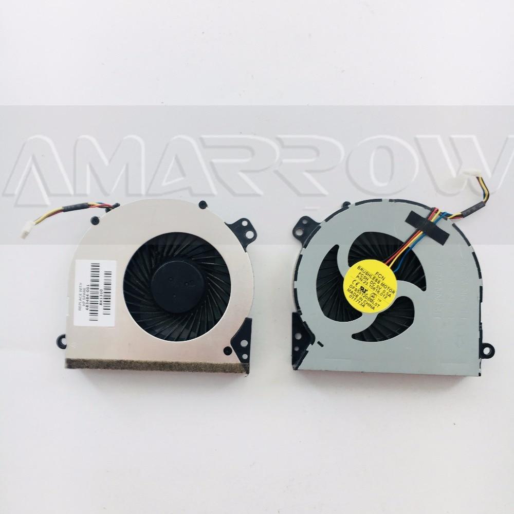 Оригинальный охлаждающий вентилятор для ноутбука HP 4540 4540S 4545S 4740S 683484-001 DFS551205ML0T FC5H
