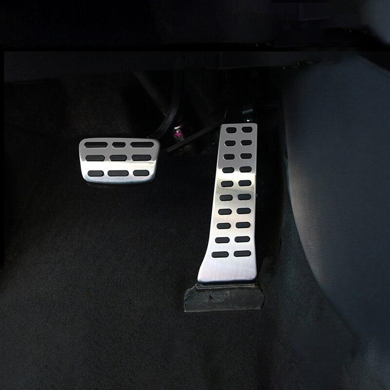 Para Hyundai Sonata Tucson Kia picanto Kia Sportage Sorento Stinger en/MT Acelerador de coche Pedal pedales de freno antideslizante caso Accesorios
