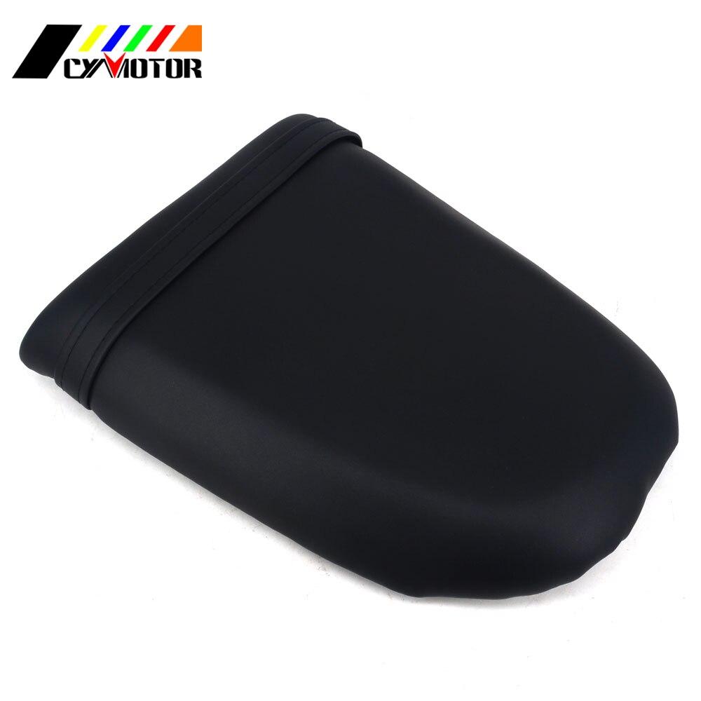Motorcycle Rear Pillion Leather Soft Seat Cover For SUZUKI GSXR1000 2001 2002 GSXR600 GSXR750 01 02 03
