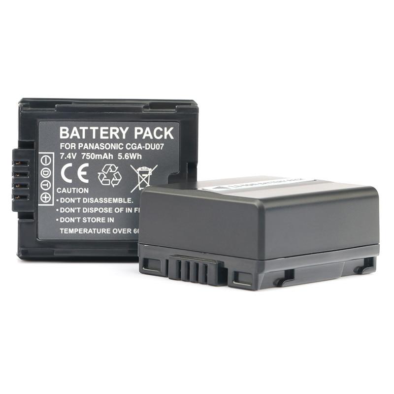 LANFULANG 2 Pack CGA CGR DU06 DU07 reemplazo del Li-Ion de la batería para Panasonic PV-GS34 PV-GS35 PV-GS65 PV-GS120 PV-GS150 PV-GS180