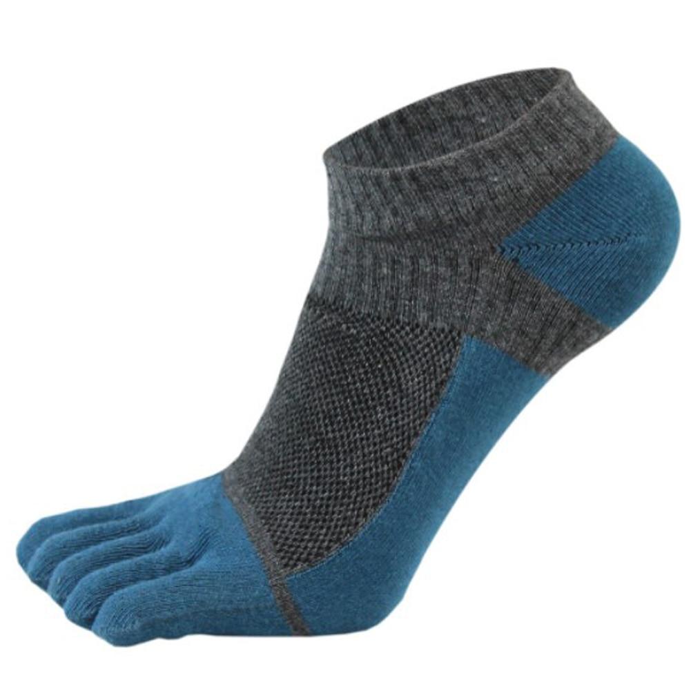 2019 New Designed 1 Pair Men Mesh Meias Five Finger Toe Socks Cotton Polyester Spring Funny Socks calcetines hombre