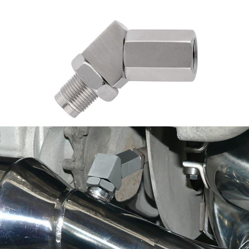 SPEEDWOW Oxygen Sensor Extender Lambda O2 Oxygen Sensor Extender Spacer CEL Check Engine Light Fix With Catalytic Converter