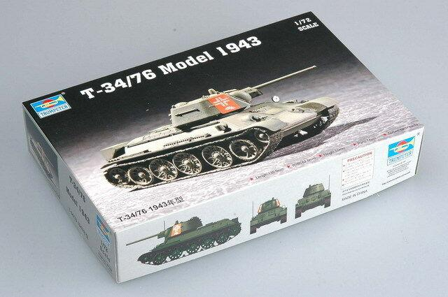 Trumpeter 1/72 07208 T-34/76 Model 1943