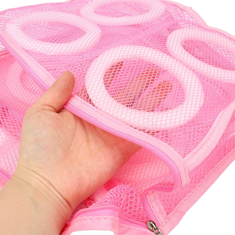 Leni čevlji za pranje vrečk pralne vrečke za čevlje spodnje - Organizacija doma - Fotografija 3