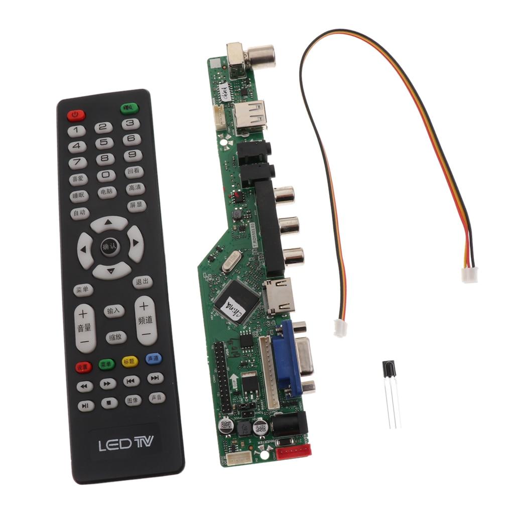 Universal LCD TV LED controlador de apoyo 1080P HDMI/VGA/AV/USB