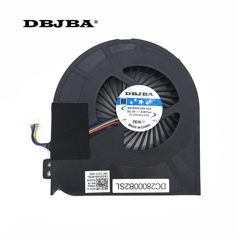 CPU Fan For DELL Precision M4700 Laptop Fan MG60150V1-C030-S9A DC28000B2SL 01G40N