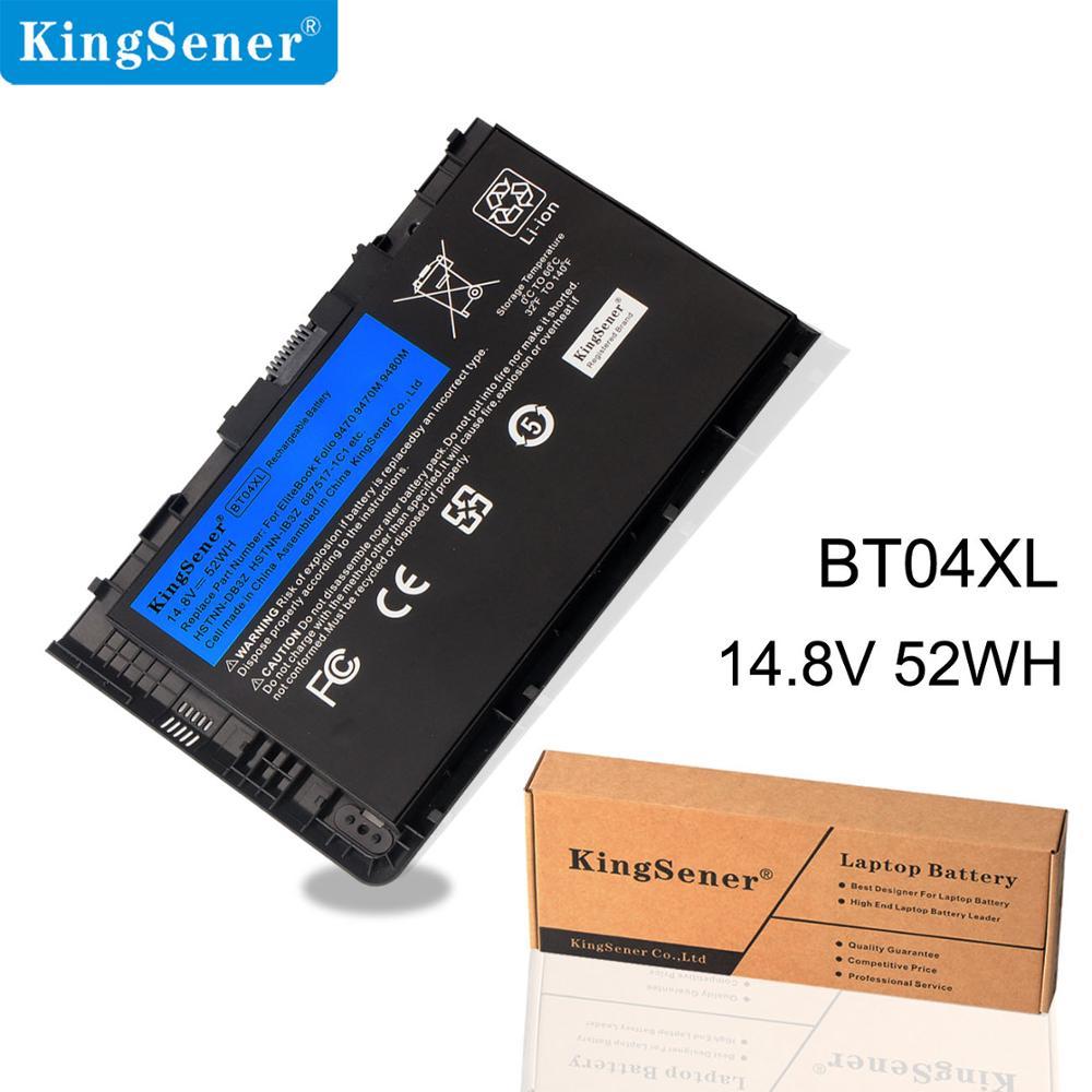 KingSener BT04XL Bateria para HP EliteBook Folio 9470 M 9470 9480 M HSTNN-IB3Z HSTNN-DB3Z HSTNN-I10C BA06 687517-1C1 687945-001