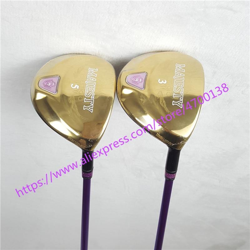 New Golf Clubs Women's Golf Club Complete Set Maruman Majesty Prestigio 9 Golf Complete Set of Graphite Golf Clubs (No Bag)