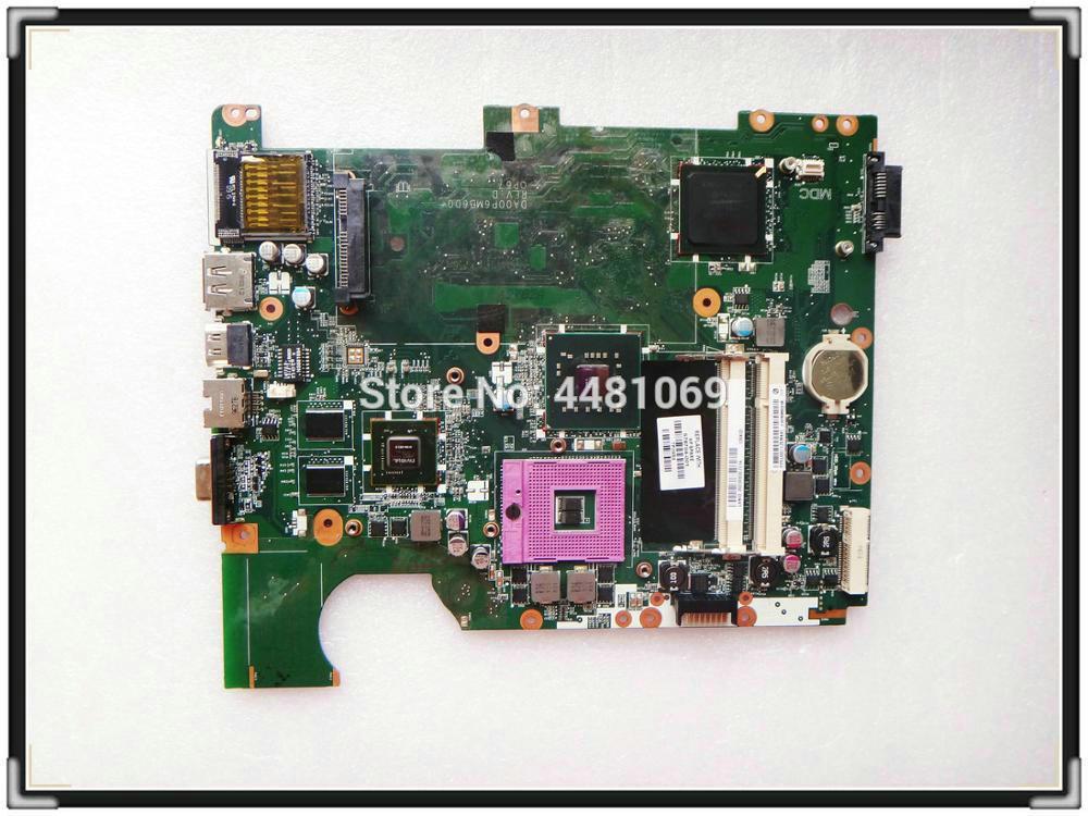 578704-001 para HP Pavilion G71 CQ71 CQ71-330ED CQ71-310SV cuaderno PM45 placa base DA00P6MB6D0 100% probado OK