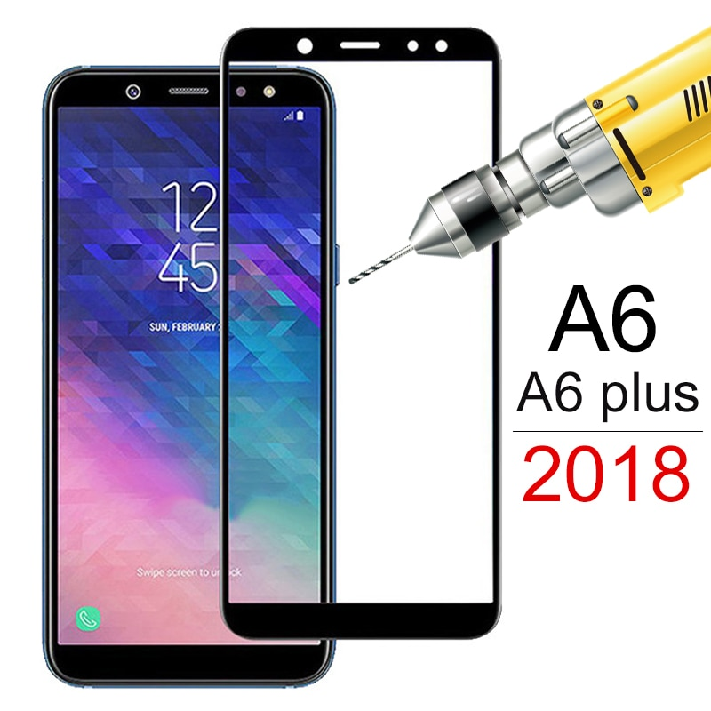 tempered-glass-for-samsung-galaxy-a6-2018-a6plus-a600f-screen-protector-on-the-for-samsung-a6-plus-a6-a-6-protective-film-cover