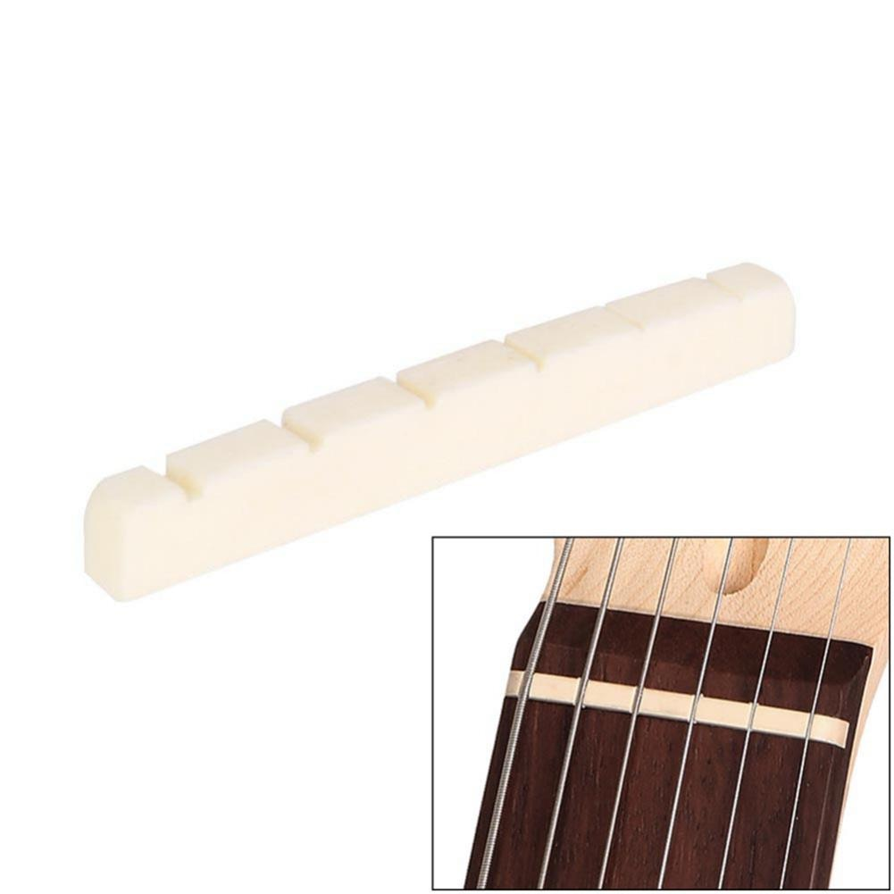 Tuerca de hueso de guitarra de montaña, 6 cuerdas, 42mm/1,65 pulgadas, Strat...