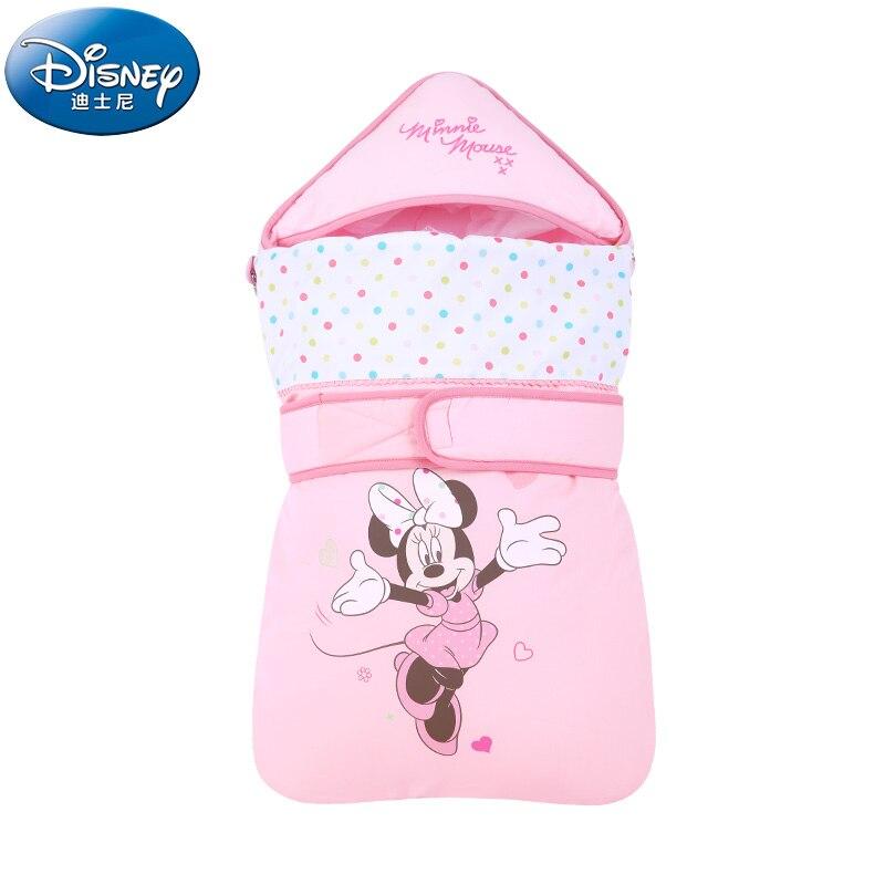 Disney мультфильм Микки Минни детские одеяла для новорожденных девочек и мальчиков хлопковые одеяла зима осень теплые спальные мешки