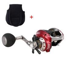 Lixada 10+1 Ball Bearings Baitcasting Reel 6.31 Gear Ratio Lightweight Smooth Metal Spool Ice Boat Rock Fishing Wheel