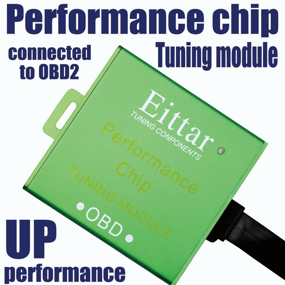Eittar OBD2 chip de rendimiento OBDII Módulo de sintonización excelente rendimiento para BMW 650Ci (650Ci) 2006 +