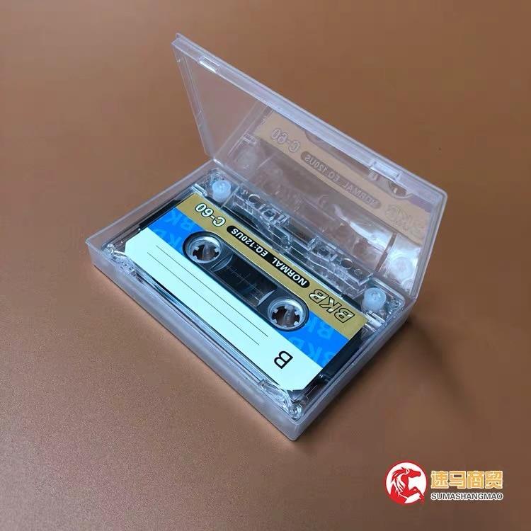 Wholesale 5 pcs BKB C-60 60 Minutes Normal Position Type 1 Recording Blank Cassette Tapes.