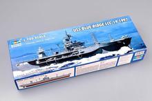 Trumpeter 1/700 05715 USS, голубой Бридж, фотография 1997