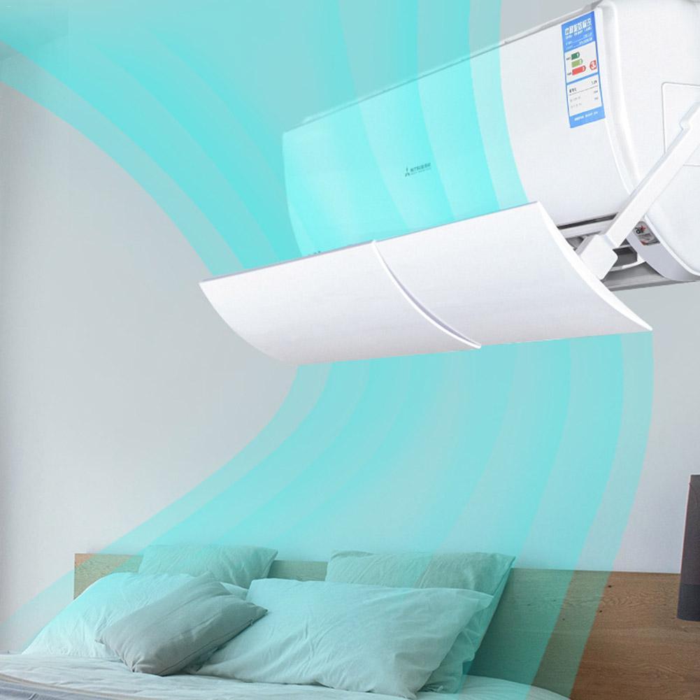 AUGKUN 1 pc Defletor de Ar Condicionado Soprando Retrátil Escudo Do Condicionador de Ar Condicionador de Ar Frio Vento Defletor Defletor