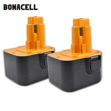 Bonacell 12V 3000mAh Pour Black & Decker PS130 PS130A outil électrique batterie A9252 A-9252 A9275 A-9275 A9266 L50