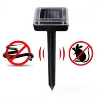 Outdoor Garden Mole Repellent Solar Power Ultrasonic Mole Snake Bird Mosquito Mouse Ultrasonic Pest Repeller