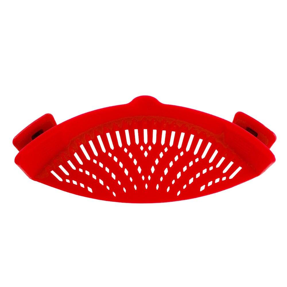 Colador de cocina cesta de lavado de frutas y verduras fregadero plegable escurridor
