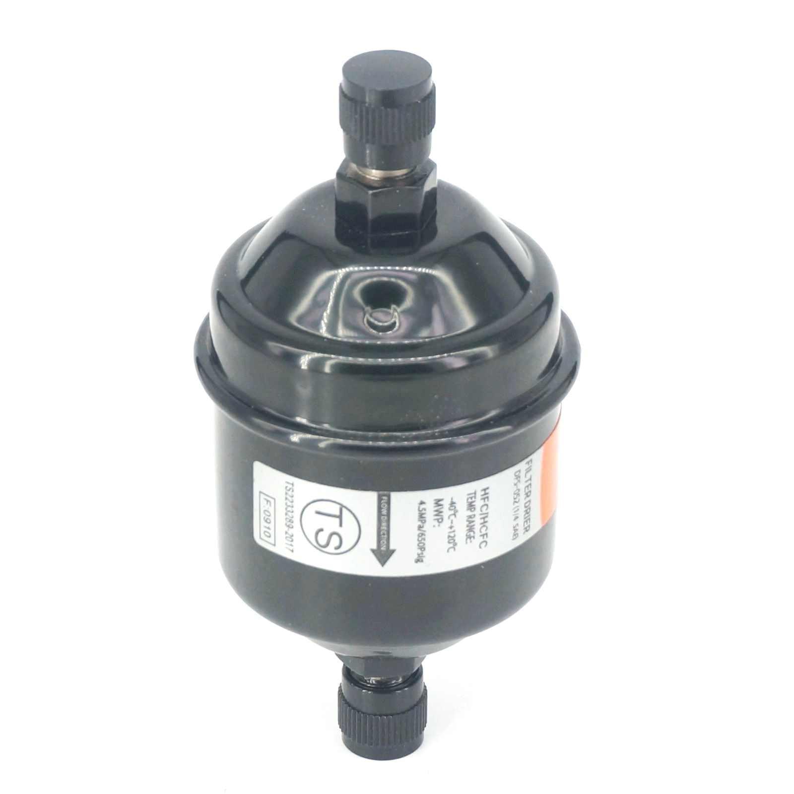 """Filtro líquido 052 do secador da linha da conexão do alargamento de 1/4 """"sae para o líquido refrigerante de hcfc/hfc"""