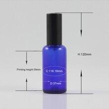 PGX20-50ml дешевые парфюмерные флаконы голубое стекло Заправляемый спрей упаковка в наличии