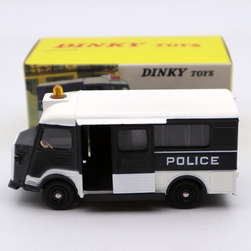 Atlas 1:43 Dinky Toys 566 Citroen CURRUS Car DE  Police Secours Deicast Models Toys Car Limited Edition Collection