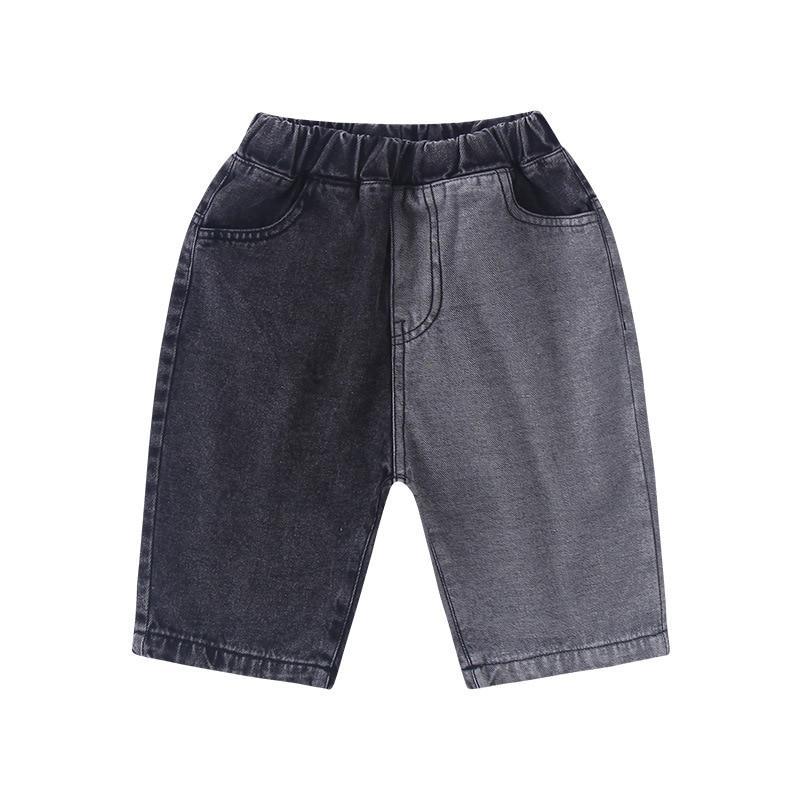 Серого и черного цветов детские летние шорты на Возраст 3 12 лет детская