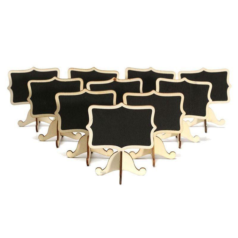 24 комплекта мини доски сообщения и Количество позиций стол табличка для