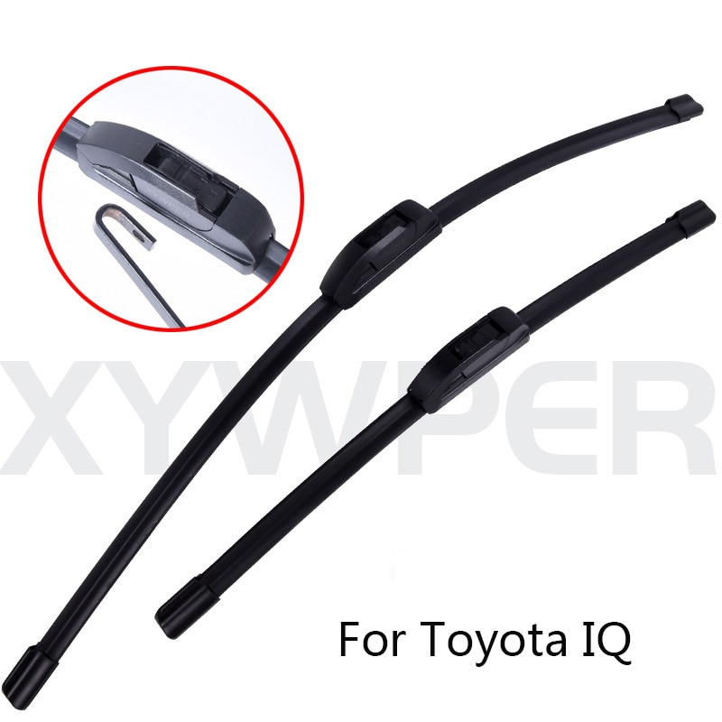 Limpiaparabrisas para coches para Toyota IQ desde 2008 2009 2010 2011 2012 2013 2014 2015 limpiaparabrisas, venta al por mayor, accesorios para coches