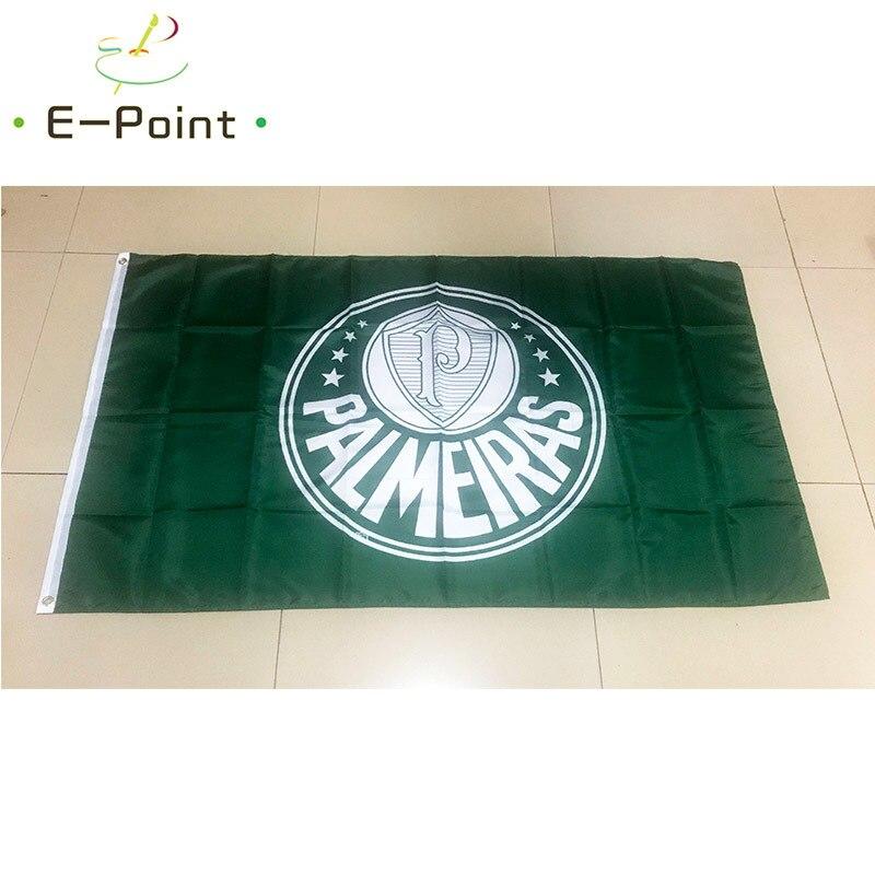Флаг Бразилии Sociedade Esportiva Palmeiras 3 фута * 5 футов (90*150 см) размер рождественские украшения для дома флаг баннер подарки