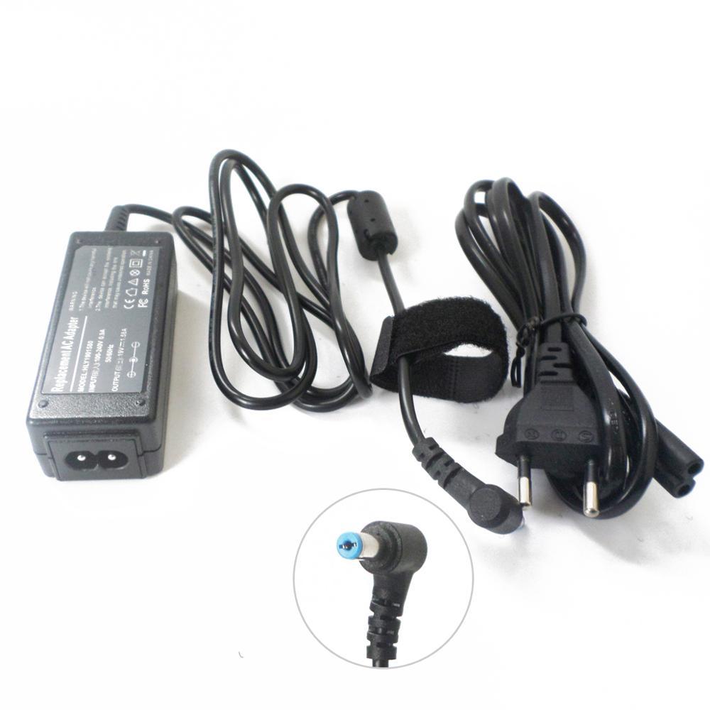 Portátil cargador de energía para Gateway Acer Aspire uno 532h-2242 532h-2268 532h-2575...