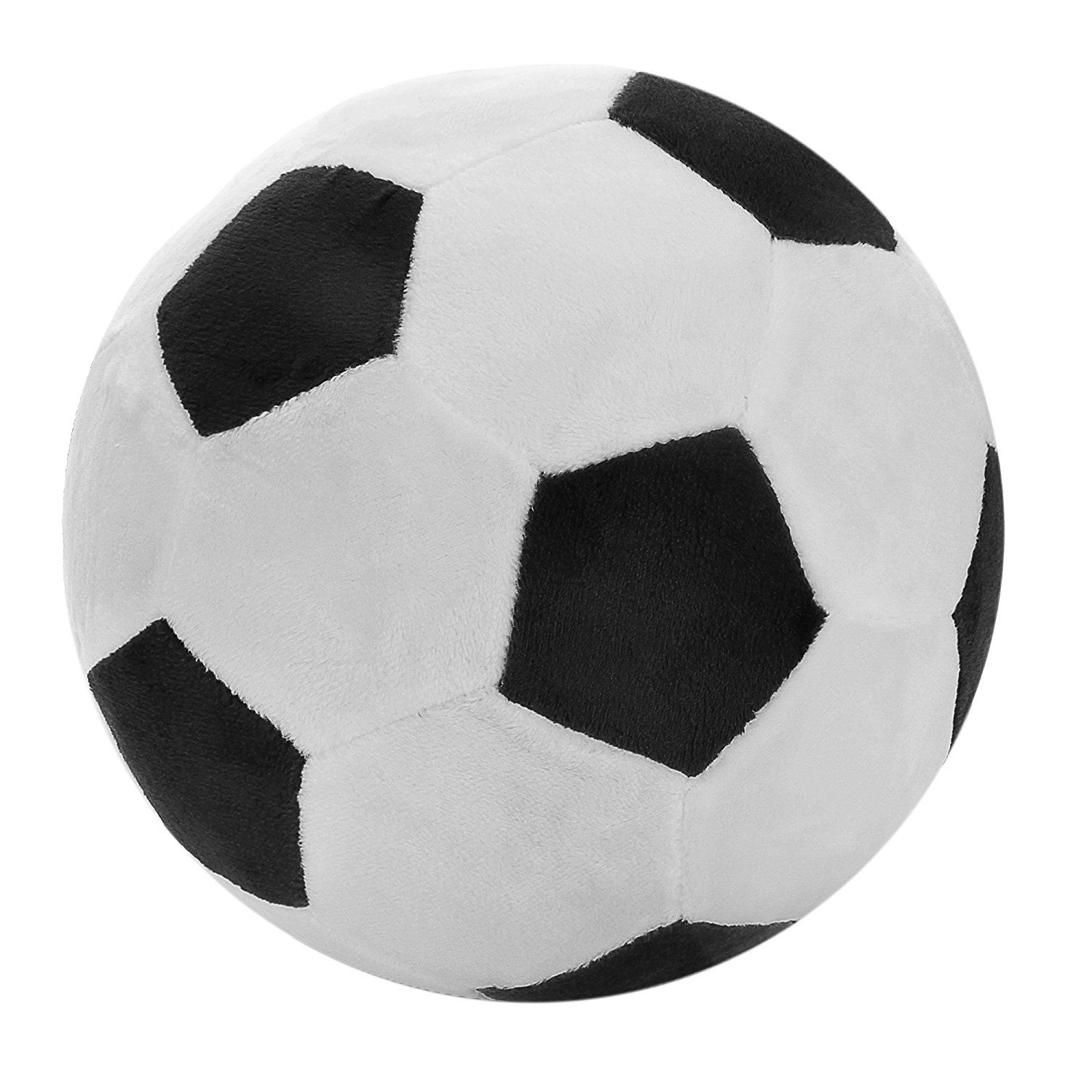 Soccer Sports Ball Throw Pillow Stuffed Soft Plush Toy For Toddler Baby Boys Kids Gift