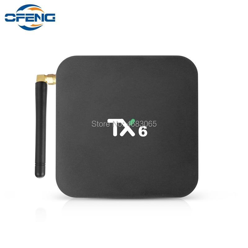 TX6 TV Box Allwinner H6 4 GB 32 GB 64 GB Android 9,0 Smart TV Box 2,4G + 5G Wifi BT 4,1 HD media player 4 K H.265