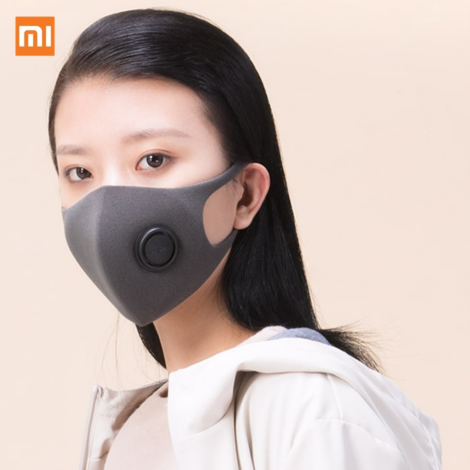 Xiaomi Mijia Filter Mask Block 97% PM 2.5 with Ventilating Valve Long-lasting TPU Material Filter Ma