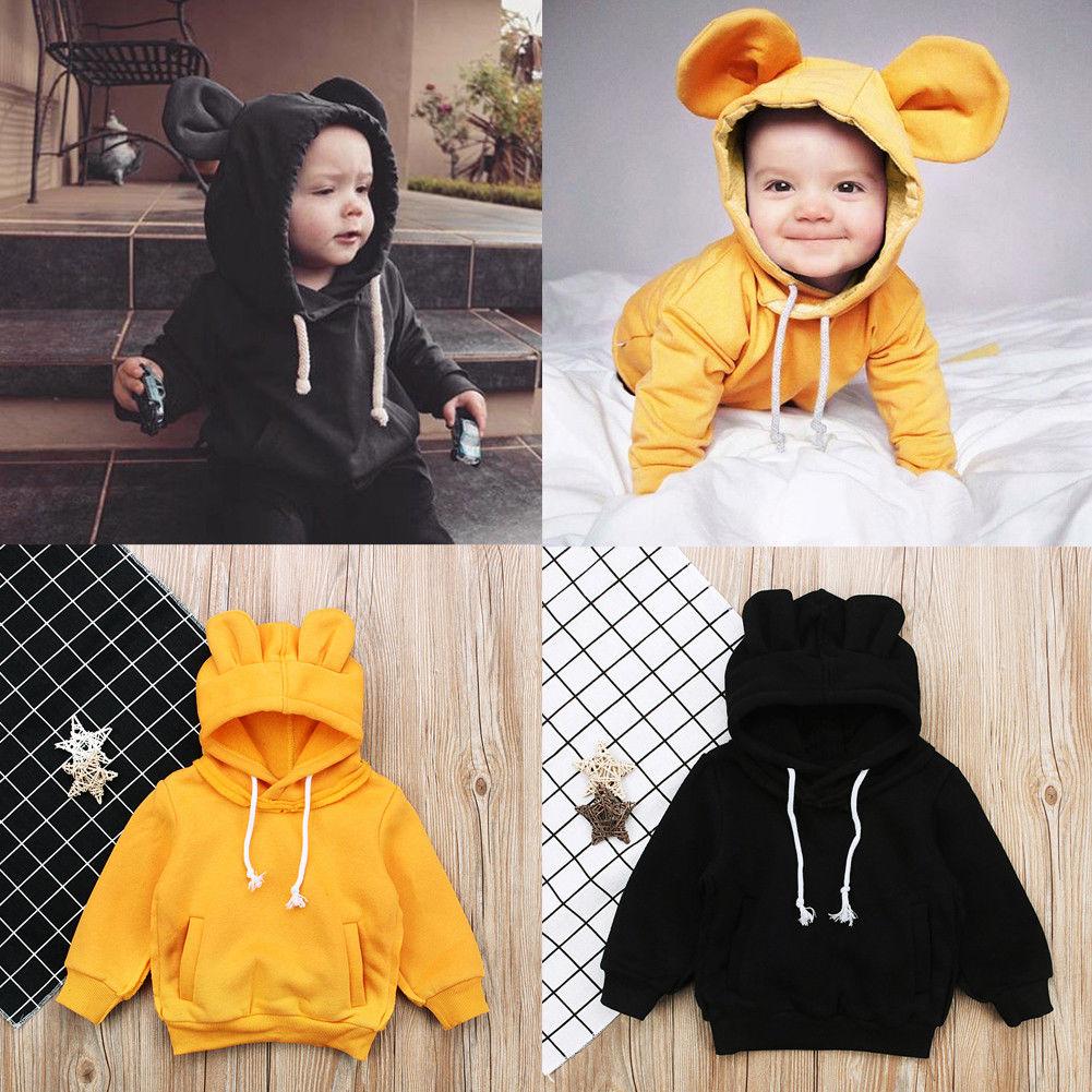 Pudcoco Boy Girl Hoodies 12M-5Y  Toddler Kid Baby Boy Girl Animal Hoodies Tops Coat Sweatshirt Pants Outfits