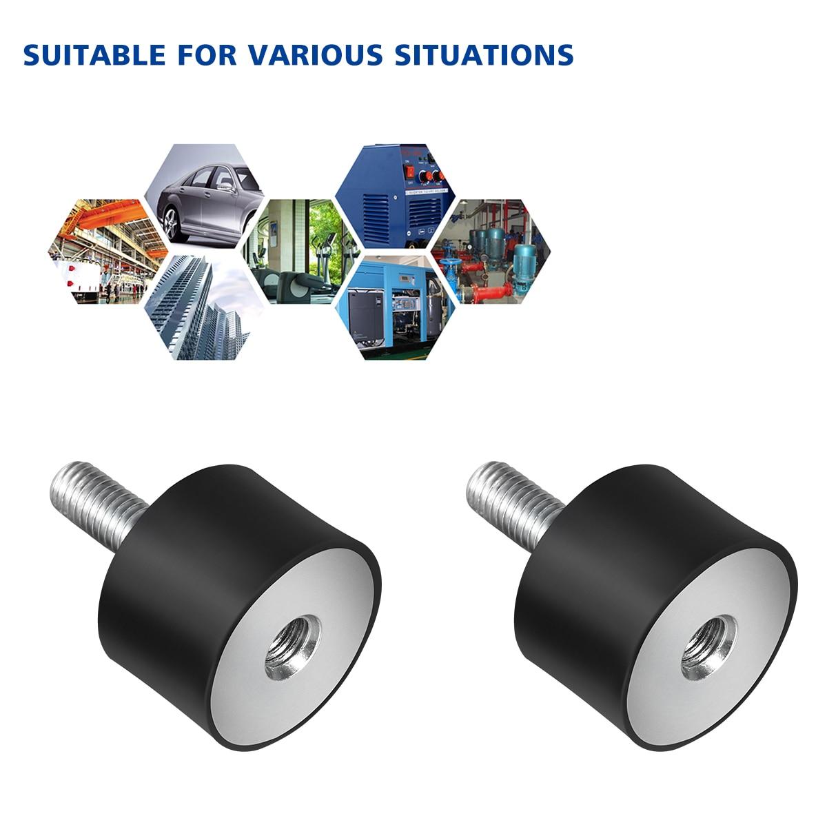 4PCS Rubber Mounts Anti Vibration Silent Block Tool for Car Boat Bobbins Tool Accessories