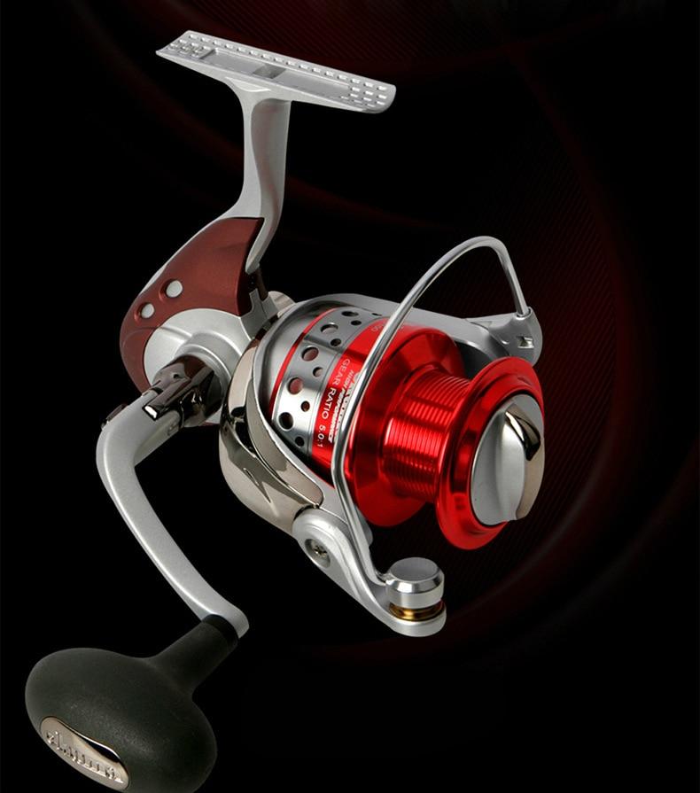 OKUMA LOEII-1000/2000/3000/5000 Spinning Reel 7BB Carp Fishing Gear High Strength Portable Lure Wheel Line Spooler Coil Pesca enlarge