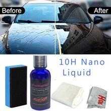 1 Uds 30ML 10H PRO antioxidante Nano cristal dureza alto brillo revestimiento de coche Kit Anti-rayado polaco pintura sellador