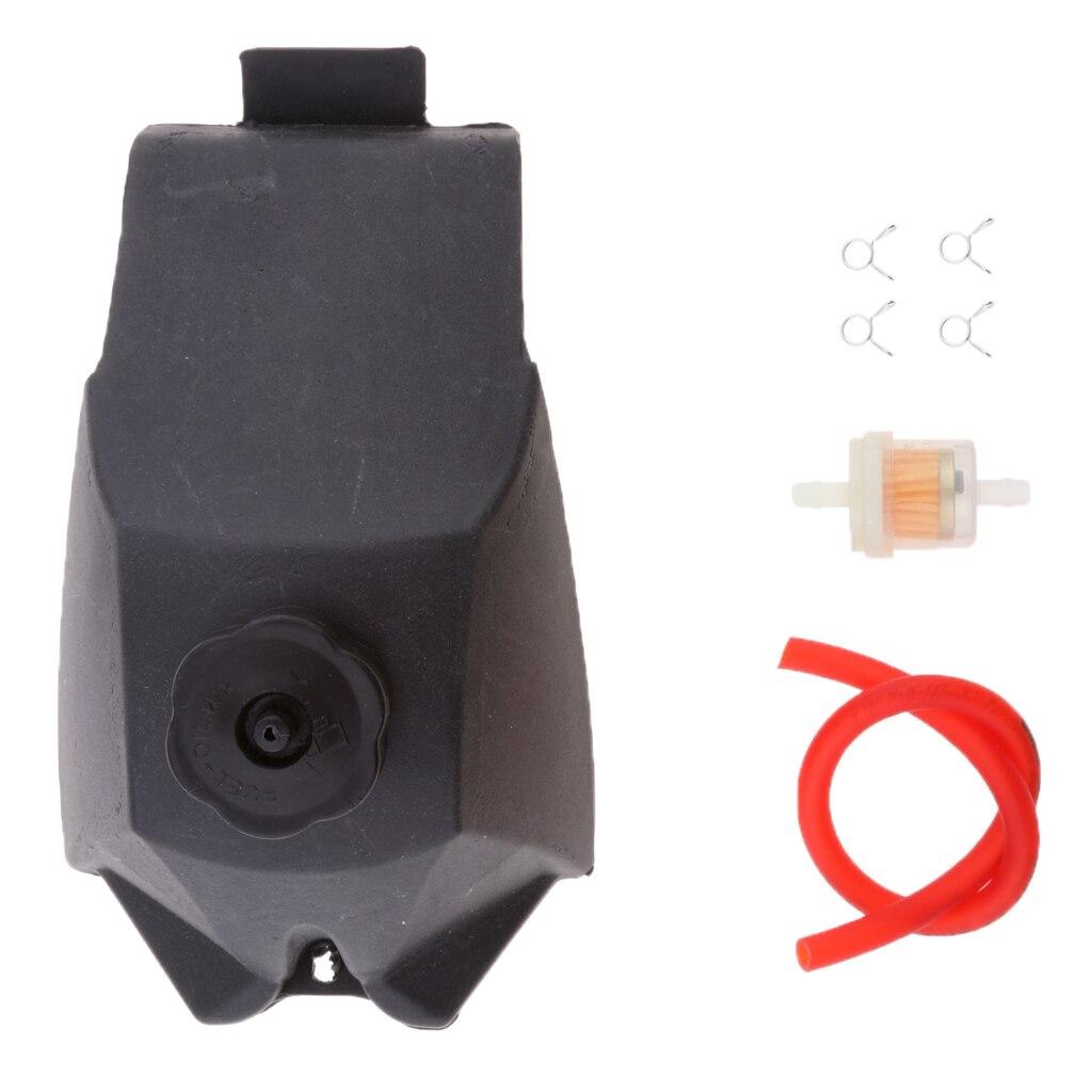 Tanque de gás combustível + mangueira filtro clipes para 49cc atv mini motor quad bolso da bicicleta sujeira
