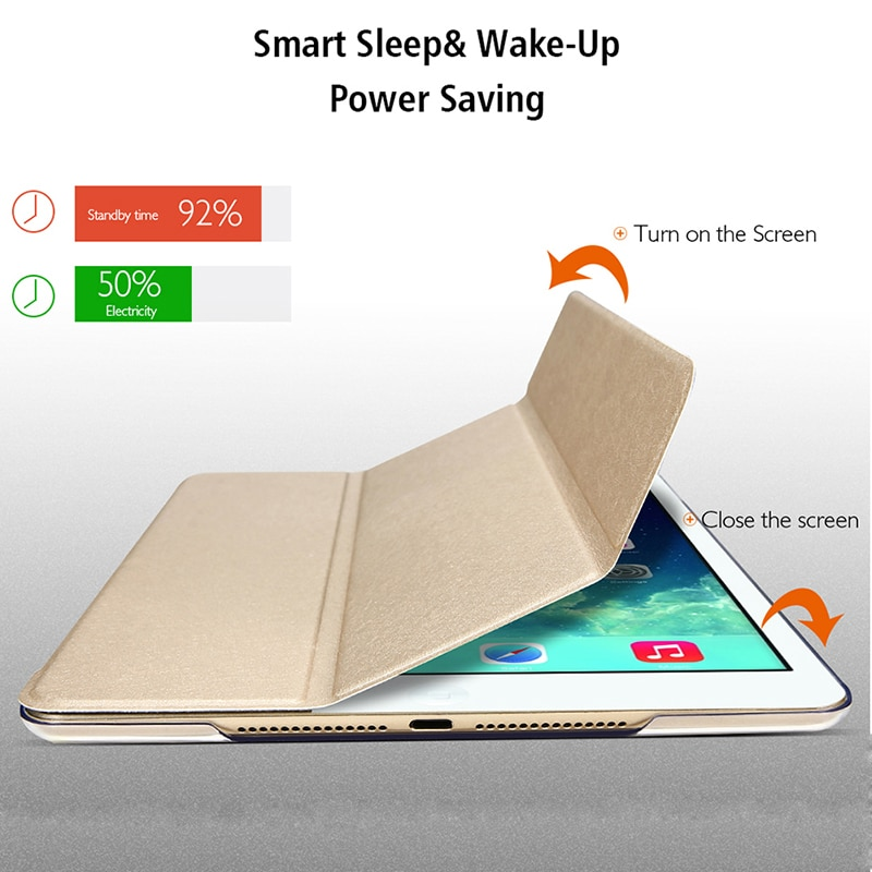 Funda de tableta para Samsung Galaxy Tab A 10,1 2016 SM-T580 4G LTE, funda inteligente de piel magnética, funda con soporte para despertador y Sueño automático