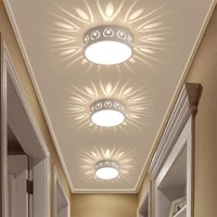 3w5w led ceiling lamp modern color led ceiling lights decoration shadow corridor aisle lampara light fixtures da