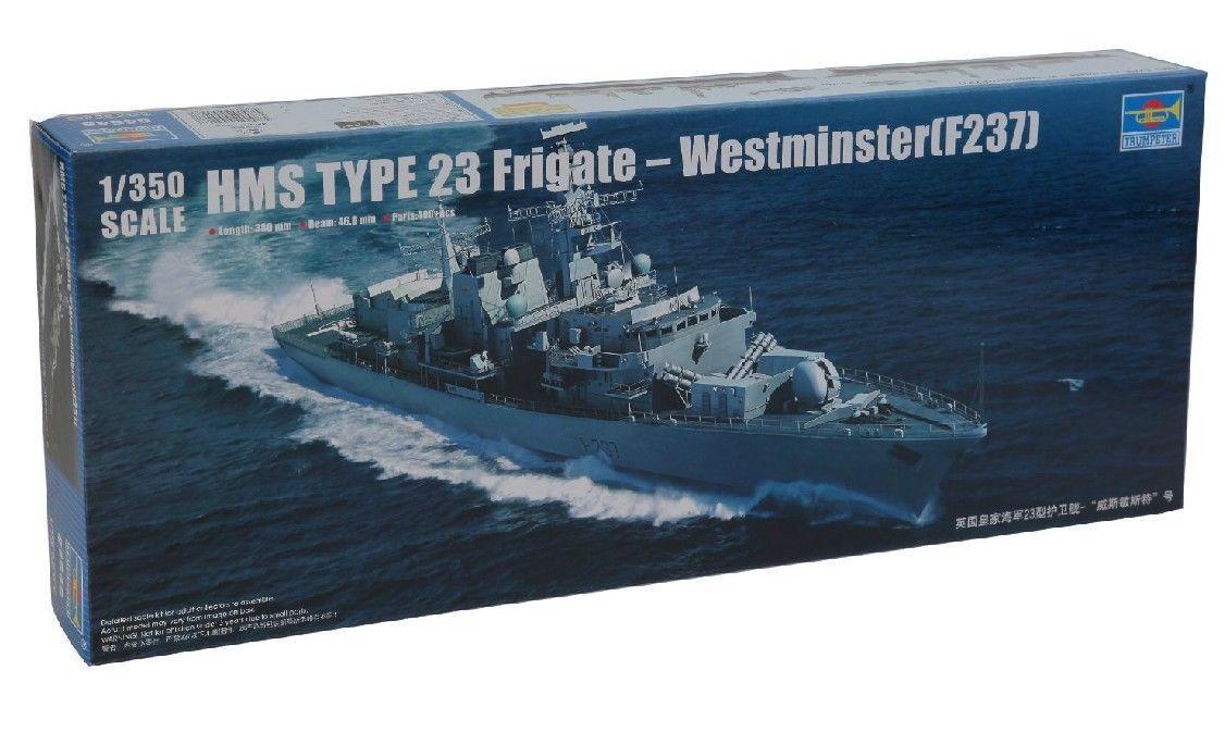 Trumpeter 1/350 04546 HMS Typ 23 Fregatte-Westminster