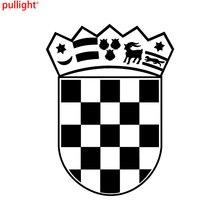 Fashion Attractive Croatian Crest / Coat of Arms Sticker Decal Car Truck Window Bumper Laptop