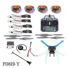 JMT 2.4G 6ch Drone quadricoptère RC 500mm S500PCB APM2.8 M8N GPS ARF/PNF pas de Kit de batterie bricolage désassemblage moteur Brushless ESC F08191-Y