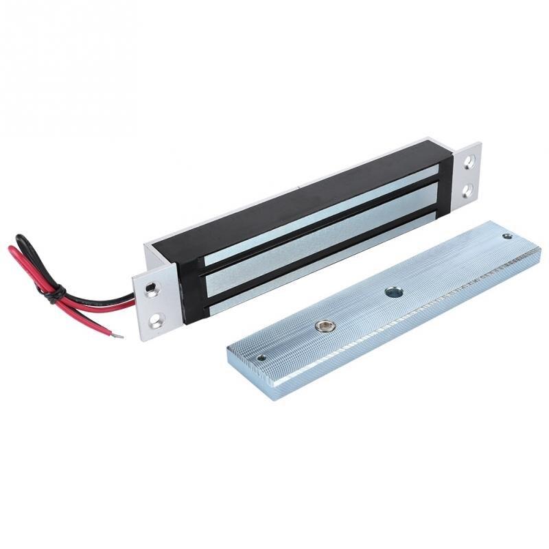قفل مغناطيسي كهربائي للمنزل ، قفل باب كهربائي بقوة تحمل 280 كجم/600 رطل ، 12 فولت