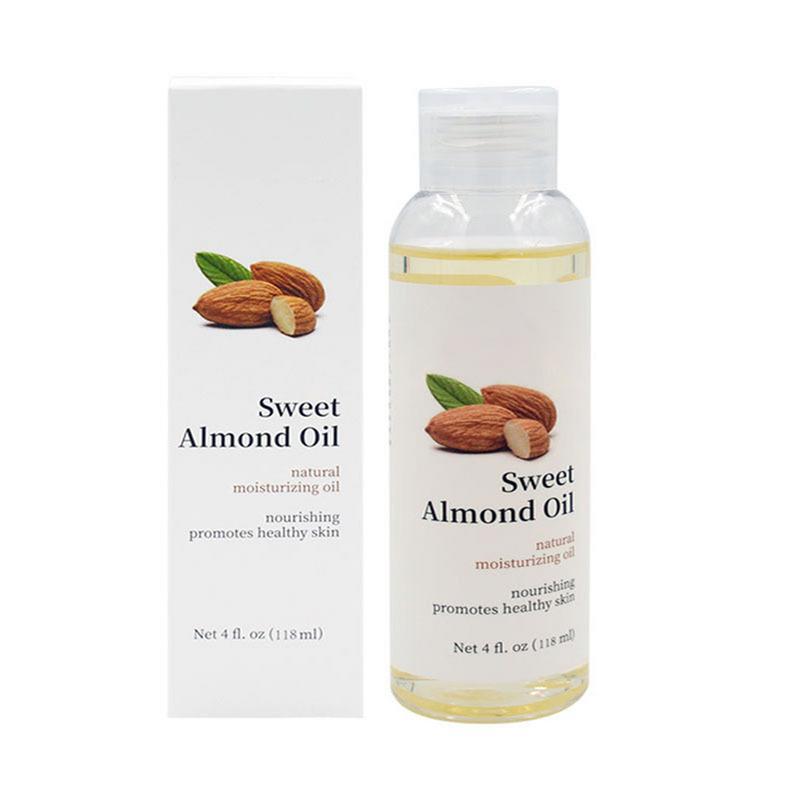 Sweet Almond Oil Moisturizing Foundation Oil Body Massage Oil Desalination Stretch Mark Oil 118ml