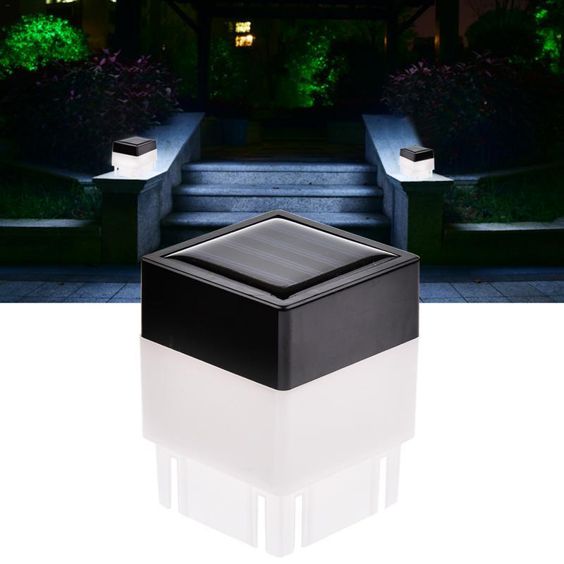 ¡Novedad de 2019! Luz LED Solar para valla, luz para pasillo IP65, impermeable, lámpara Solar para jardín y jardín, luz Led para jardín