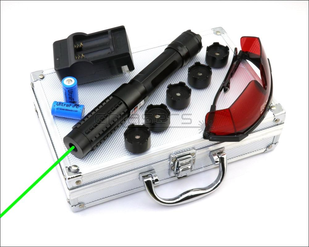 CNILasers X6BG0200 регулируемый фокус 520nm Зеленая лазерная указка видимая лазерная ручка высокая мощность лазер факел Кемпинг сигнальная лампа